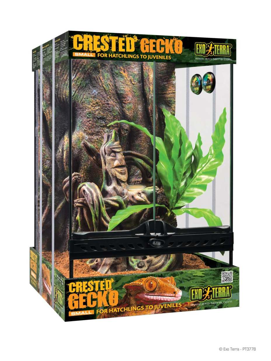 Habitats Cages Complete Habitat Kits Exo Terra Crested Gecko