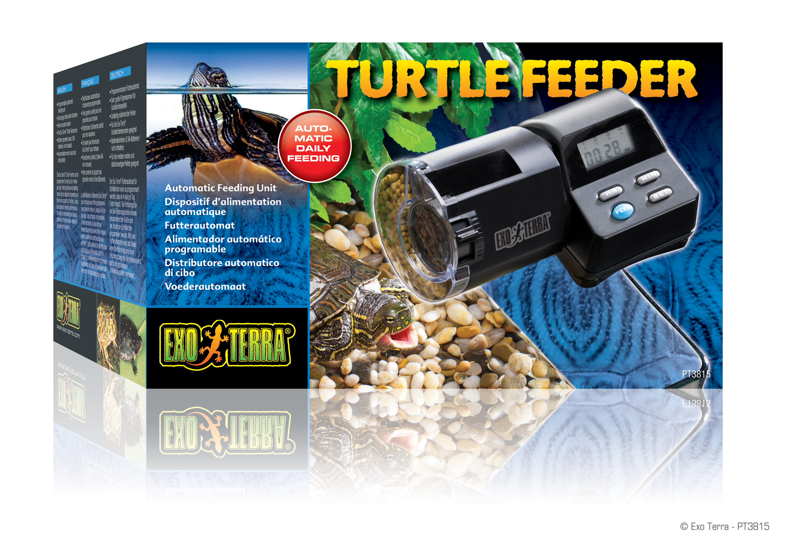 x design for dsc feeder food aquarium automatic att fish
